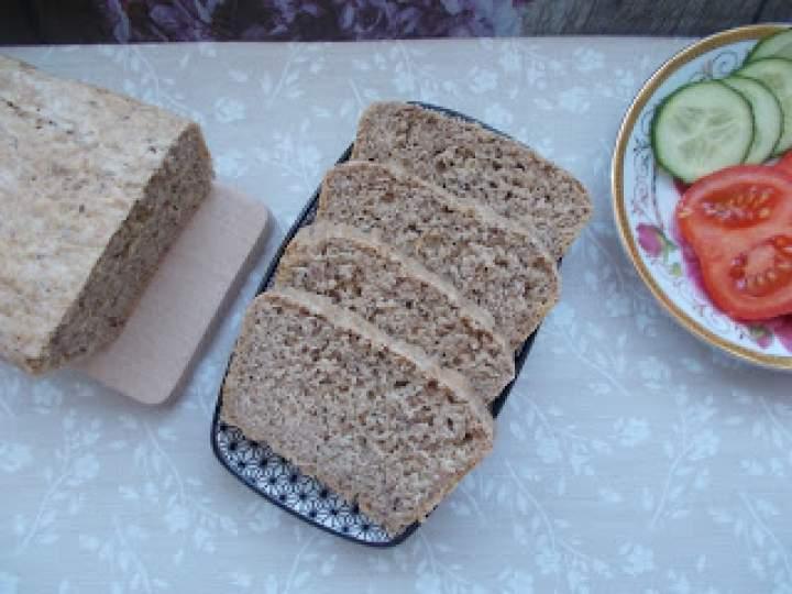 Chleb orkiszowy z oliwą i błonnikiem