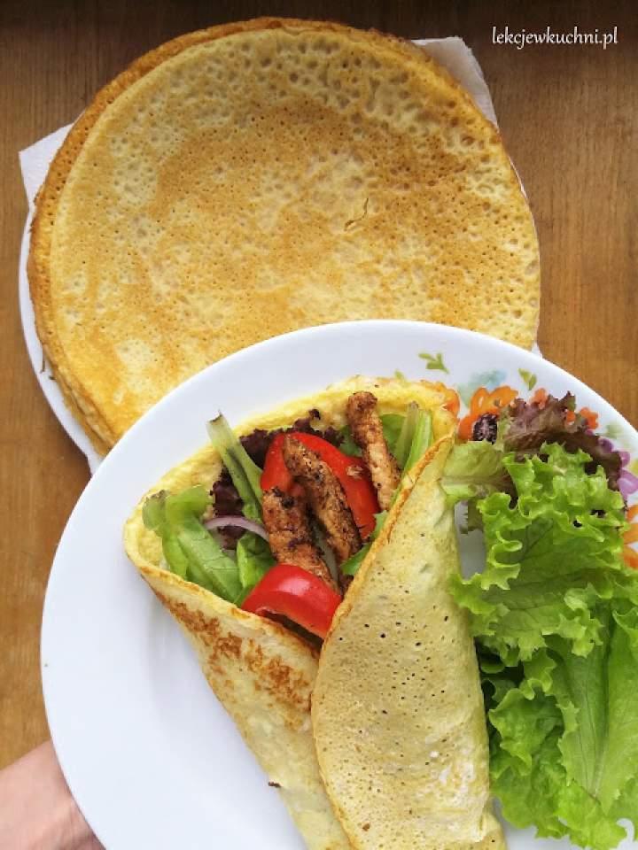Naleśniki jaglane / Millet Flour Crepes