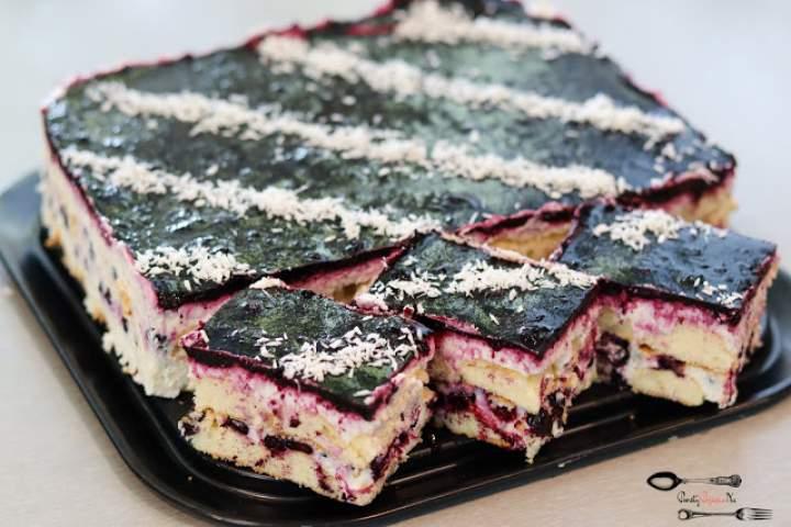 Sasanka – ciasto bez pieczenia