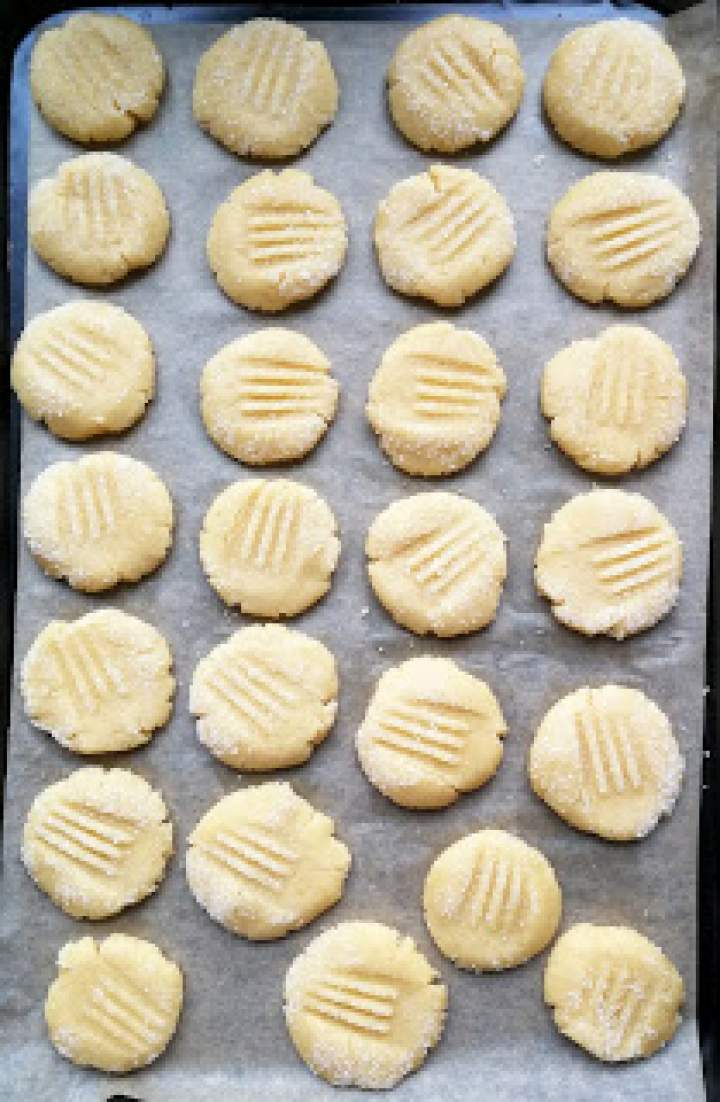 Ciasteczka maślane – wersja na Thermomix