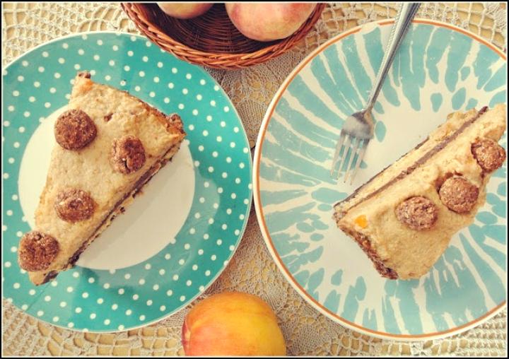 Wegański Tort Toffifee