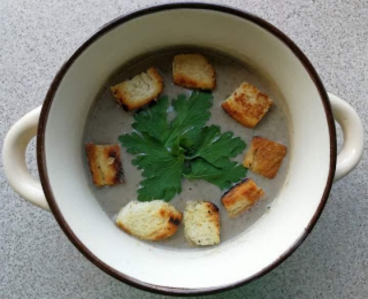 Zupa krem z pieczarek – wersja na Thermomix
