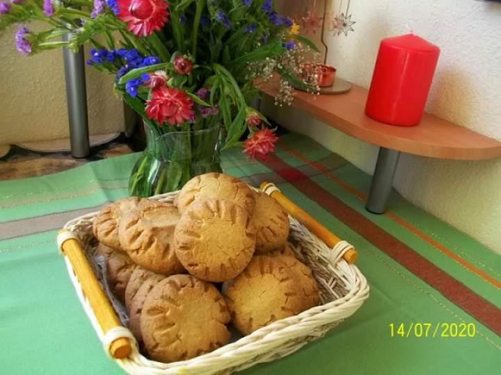 Ciasteczka orzechowo – owsiane