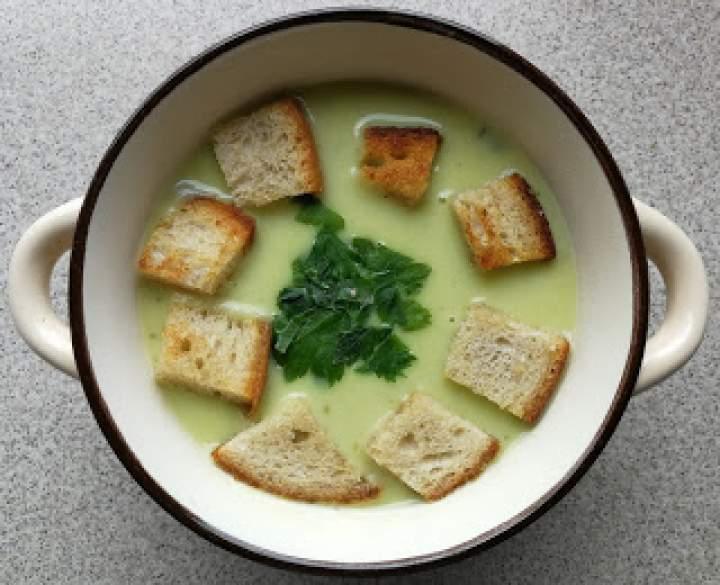Zupa krem z porów – wersja na Thermomix