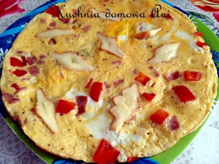 Omlet z oscypkiem
