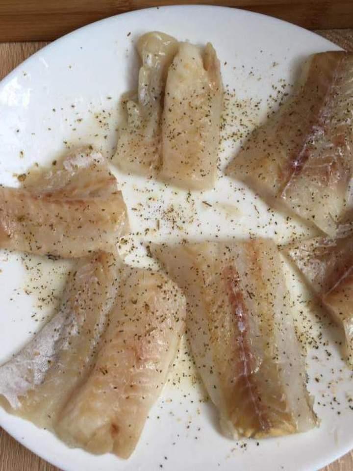 Filet rybny w serowej ciasto-panierce