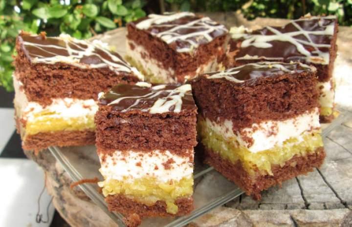 Pyszne ciasto Kilimandżaro z jabłkami-idealne na każdą okazje +FILM