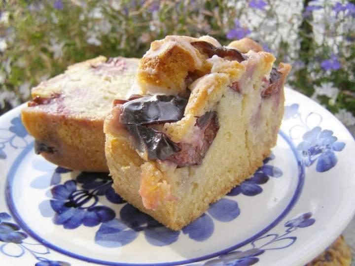 łatwe ucierane ciasto ze śliwkami…
