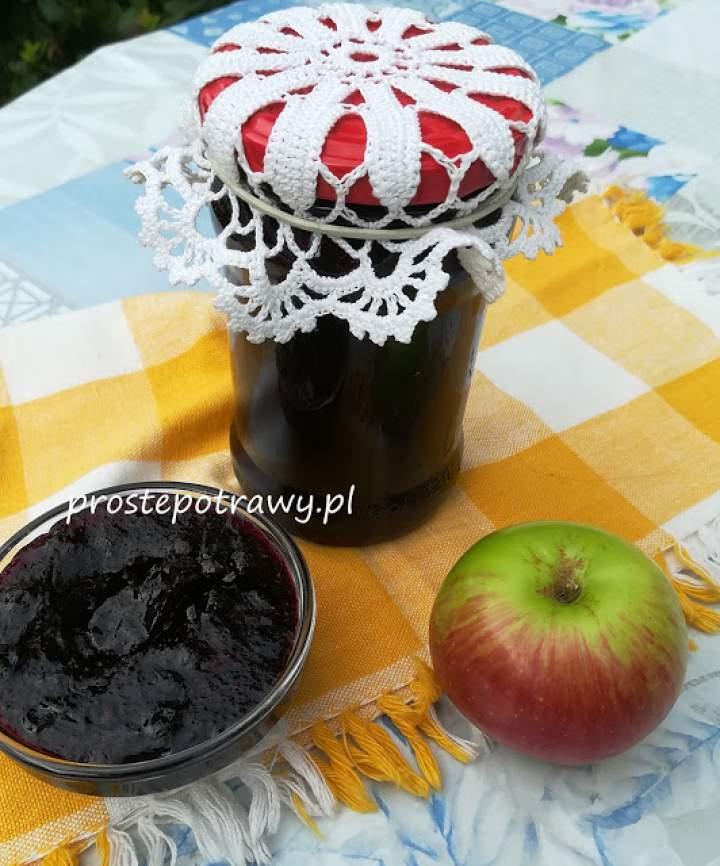 Konfitura jagodowo-jabłkowa