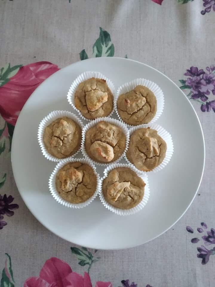 Muffinki bananowe (wersja dla dzieci)