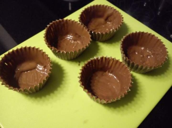 Kubeczki czekoladowe