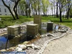 Ogród Zmysłów w Poddębicach woj. łódzkie