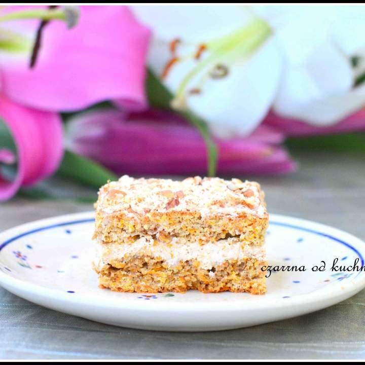 Ciasto marchewkowe z serem