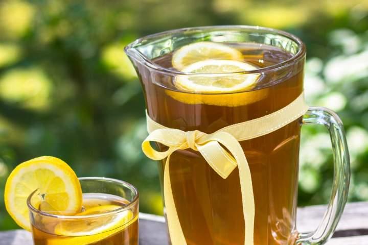 Herbata parzona na zimno
