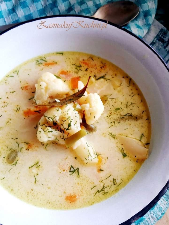 Zupa jarzynowa z kalafiorem