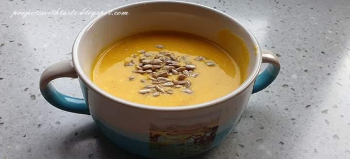 Zupa krem z marchewki / Cream of carrot soup