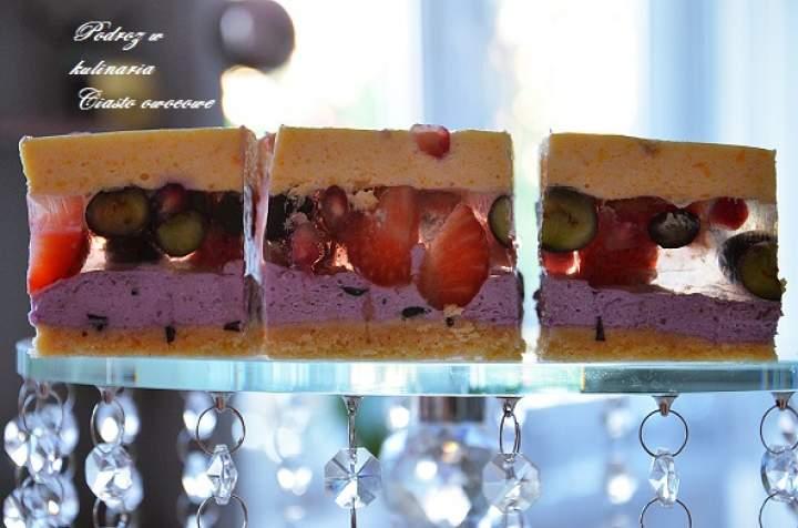 ,,Lekkie ciasto owocowe''
