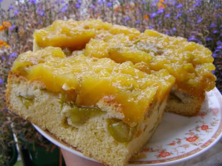 ciasto ucierane śliwkowe z musem z soku pomarańczowego ze śliwkami…
