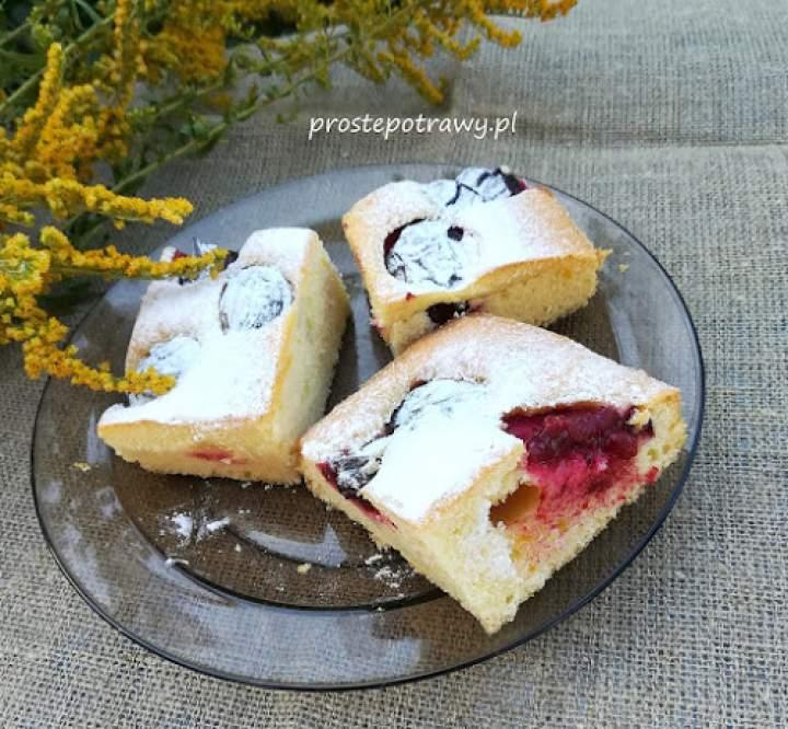 Ciasto ze śliwkami – najprostsze