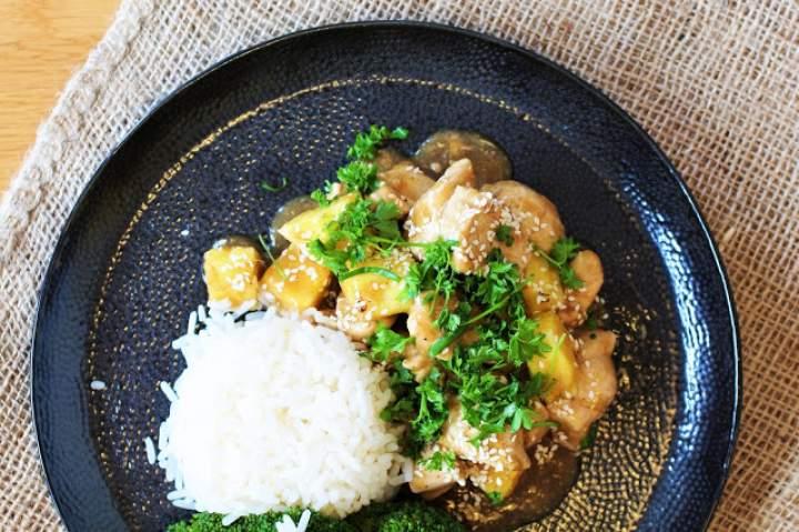 Kurczak w sosie Teriyaki/ Teriyaki chicken