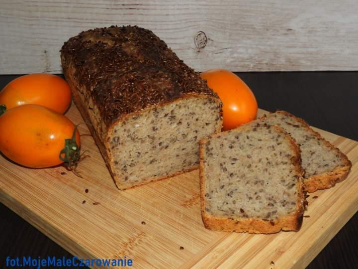 Chleb żytni na zakwasie z lnem – z lodówki