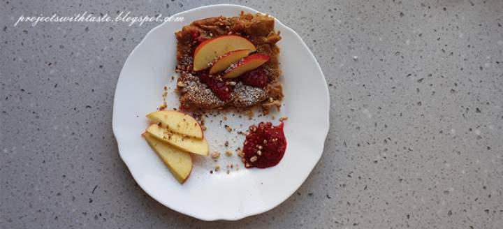 Omlet jabłkowy / Omelette with apples