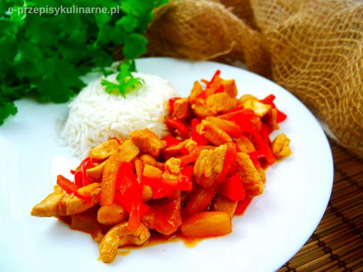 Domowy sos słodko-kwaśny (do ryżu lub makaronu)