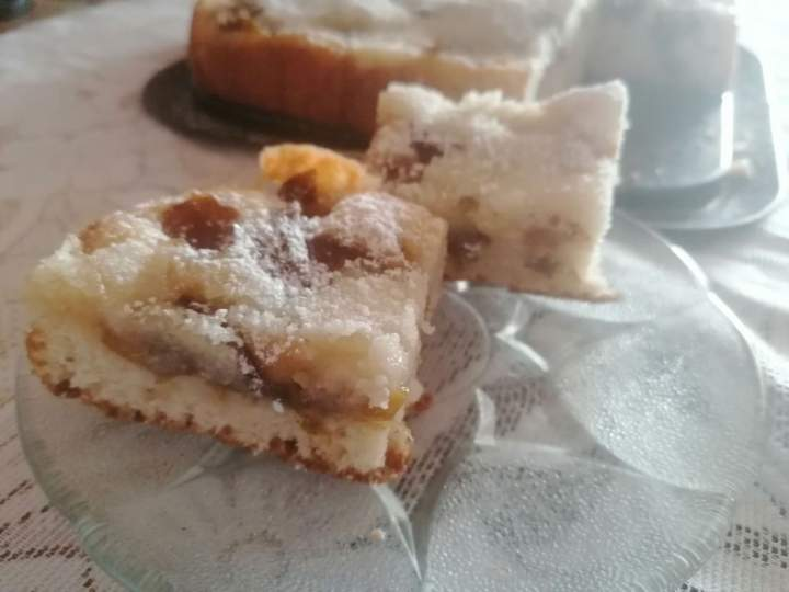 Ciasto mirabelka na maślance  -sezonowe gdy są śliwki ale inne owoce też mogą być