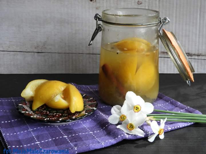 Kiszone cytryny po marokańsku