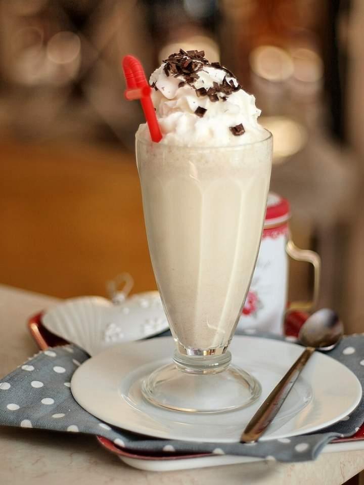 Miętowa biała czekolada na zimno