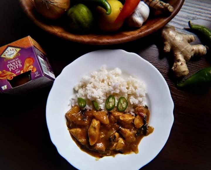 Rozgrzewające curry z kurczakiem i dynią