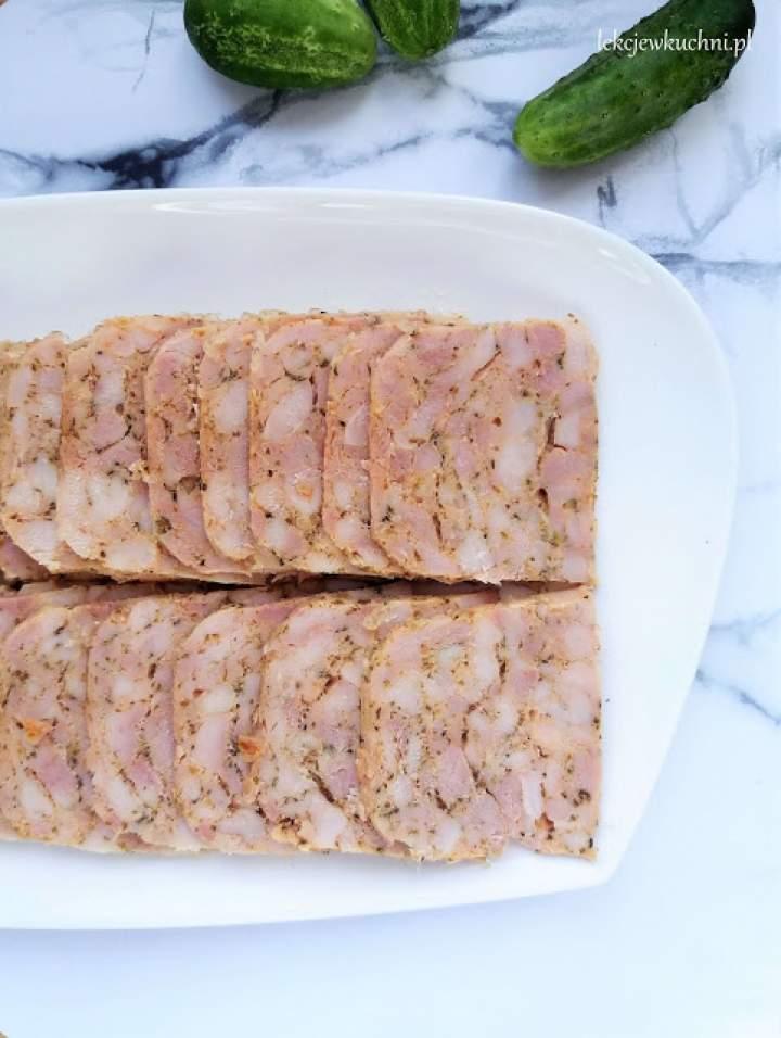 Wędlina drobiowa z szynkowaru / Homemade Chicken Ham