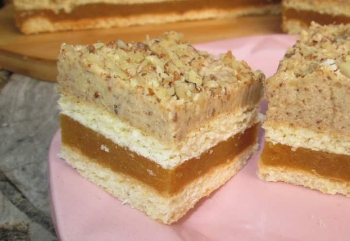 Wspaniałe ciasto Niebo jabłkowo-orzechowe+FILM