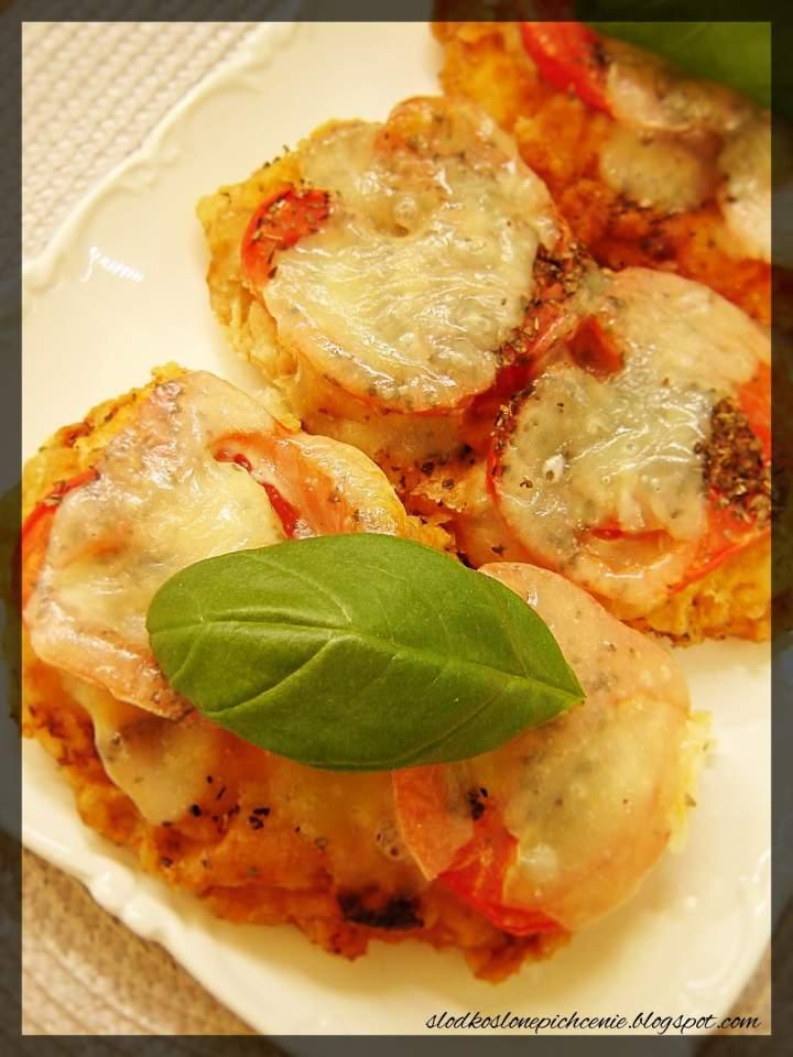 Kotlety po parysku zapiekane z pomidorami