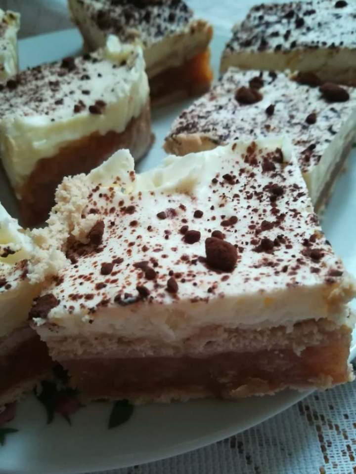 ciasto Gracja bez pieczenia