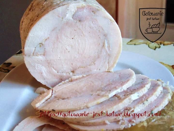 Filet z kurczaka parzony w szynkowarze