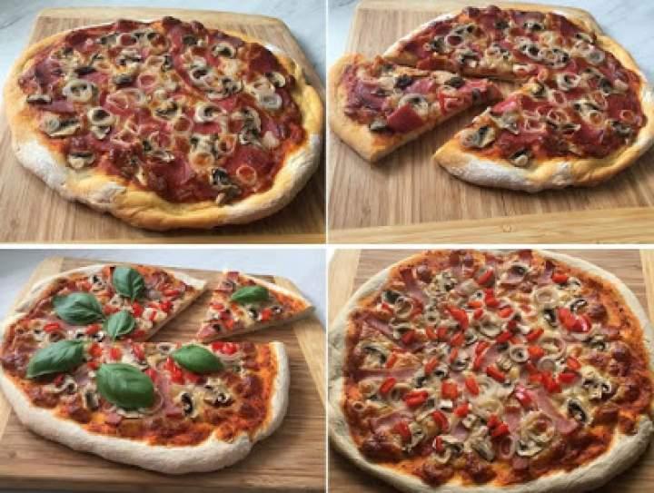 Pizza domowa – ciasto i dodatki