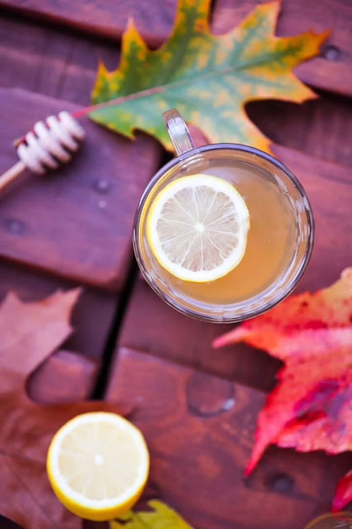 Rozgrzewająca herbatka z rumianku