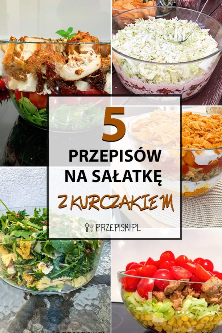 5 Pomysłów na Sałatkę z Kurczakiem