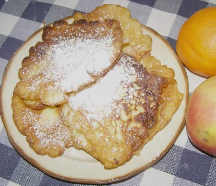 pyszne placuszki jabłkowe z nutą pomarańczy…
