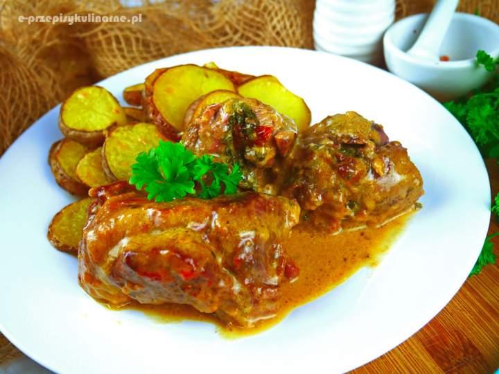 Roladki drobiowe ze szpinakiem – przepis na wyśmienity obiad