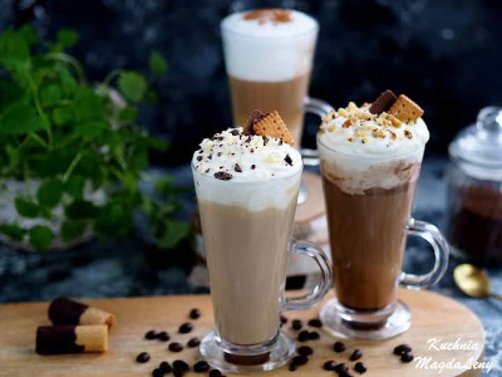 Smakowa kawa latte – z cynamonem, nutellą, białą czekoladą