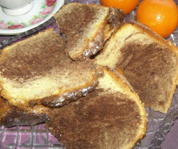 pyszna babka pomarańczowa czarno-biała…