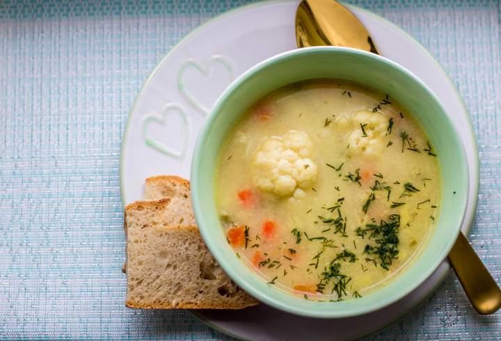 Zupa Z Kiszonego Kalafiora