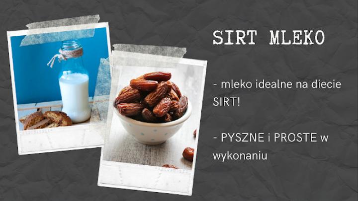 Przepis na SIRT mleko gryczano-daktylowe