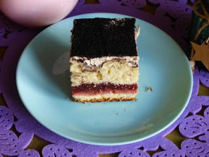 """Ciasto """" Śliwki w biszkopcie"""""""