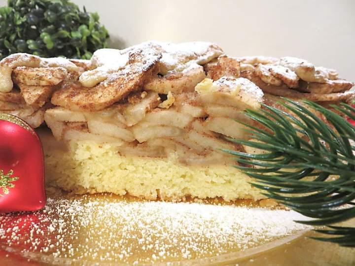 BAŁAGANIARZ  ( ciasto z jabłkami )