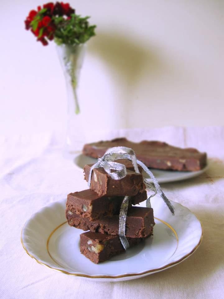 Domowa czekolada z orzechami