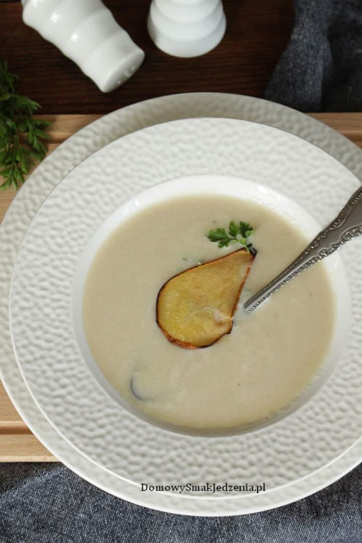 zupa krem z gruszki i pietruszki