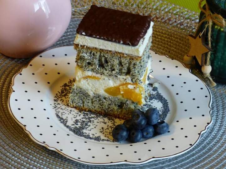 "Ciasto ""Makowa Panienka"""